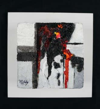 Abstract artwork by Pabón